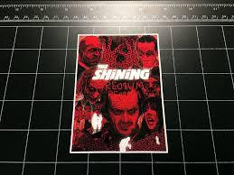 The Shining Movie Logo Vinyl Decal Sticker 80s Horror S