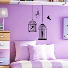 Adorable Purple Wall Decor For Bedrooms Of Beautiful Kids Bedroom Painting In Purple Acnn Decor