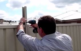 Installation Screenline Fence Extensions