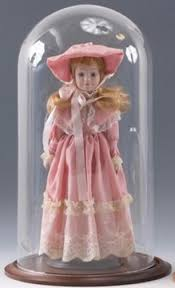 doll cases glass display cases