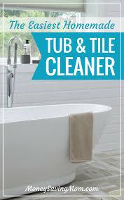 homemade tub tile cleaner money