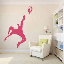 Soccer Girl Wall Decal Trendy Wall Designs
