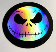 Body Chroma 42000 Nightmare Before Christmas Jack Skellington Window Shadez Decal Body Paint Body Trim
