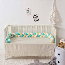 Newborn Baby Bed Bumper 220cm Children Twist Knot Pillow Bumper Infant Crib Fence Cotton Cushion Kids Room Bedding Decoration Full Size Bedding Sets For Boys Girl Comforter From Windowplant 33 42 Dhgate Com