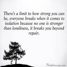 isolation quotes com