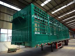 3 Axle 60ton Horse Truck Semi Trailer Fence Stake Trailer Side Wall For Sale Cheap Price China Truck Manufacturers Com Mobile Site