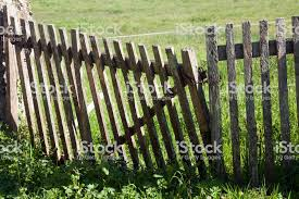 Wooden Gate Fence And Landscape Stock Photo Download Image Now Istock