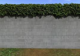 Second Life Marketplace Concrete Block Fence Privacy Screen Kit Ivy Fence For Builders 7002