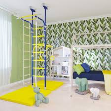 Amazon Com Home Gym Swedish Wall Playground Set For Schools Kids Room Transforme Baby