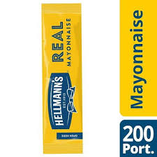 real mayonnaise 200 x 15ml portions