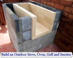 outdoor stove oven grill and smoker