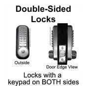 Outdoor Keypad Combination Locks For Doors Gates
