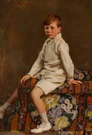 Felix Johnson as a Boy | Art UK
