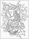 Koi Fish Coloring Ideas