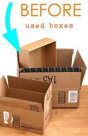 boho 5 minute diy storage boxes