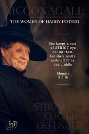 maggie smith on the quiet strength of minerva mcgonagall