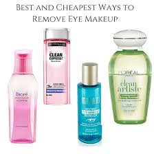 est ways to remove eye makeup