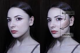 how to contour highlight pale skin