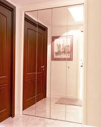 bifold closet doors creative mirror