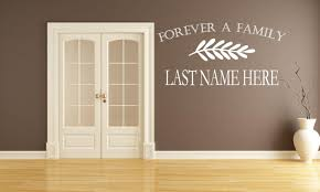 Forever A Family Wall Decal Canvas Art Rocks