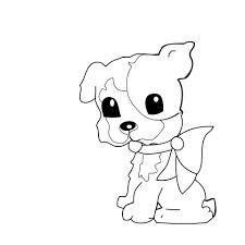 Hond Kleurplaat Voor Kinderen Gratis Stock Foto Public Domain