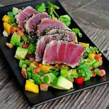 Seared Sesame Ahi Tuna