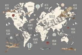 world map explorers ii from little