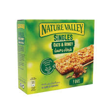 nature valley granola bars oats and