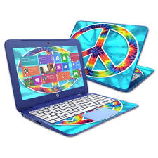Mightyskins Protective Vinyl Skin Decal Cover For Hp Stream 13 Laptop Cover Wrap Sticker Skins Peace Out Walmart Com Walmart Com