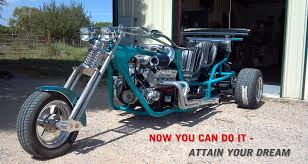 v8 trike build your own