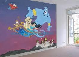 Muurschildering Aladdin Mural Murals For Kids Wall Murals