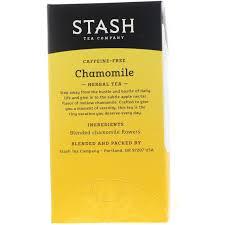 stash tea herbal tea chamomile