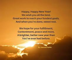 new years poems and toasts they ll remember