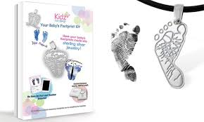 custom footprint pendant kit kidz can