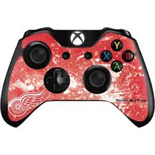 Detroit Red Wings Frozen Xbox One Controller Skin Nhl