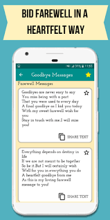 goodbye images quotes farewell messages apk for