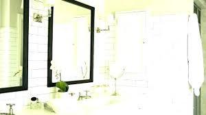 white framed bathroom mirror republic