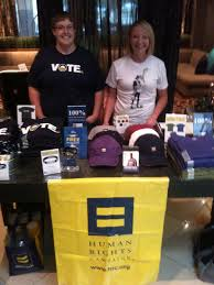 Spotted... HRC Supporters Megan McKellar and Kelley Pencek helping out at  The Night Out at the Mystics After P… | Renaissance hotel, Dc hotel, Human  rights campaign
