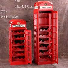 london phone box wine cabinet s y