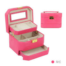 delicate pu leather cosmetic storage
