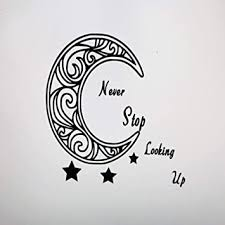 Amazon Com Celycasy Crescent Moon Car Decal Psychedelic Sticker Bohemian Hippy Hipster Mandala Decal Astronomy Celestial Baby