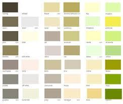 dulux interior paint colour chart