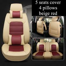 5 seats car seat cover fit ford