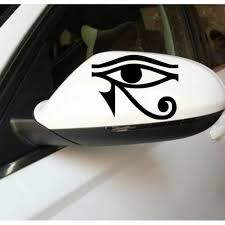 Vinyl Car Sticker Horus Egyptian God Eye Window Mural For Car Decoration Art Waterproof Removable Auto Decor Decal Y 456 Mural Window Sticker Muralstickers Decoration Murale Aliexpress