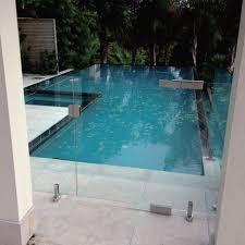 Frameless Glass Swimming Pool Gates Zureli