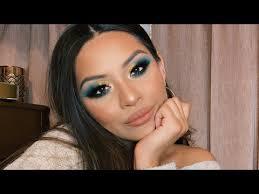 cut crease thanksgiving makeup tutorial
