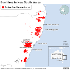 Australia fires: A visual guide to the ...