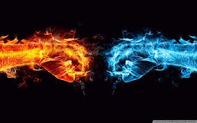 fire fist vs water fist ultra hd