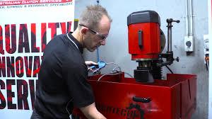 clutch tech flywheel grinder tutorial