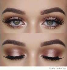 natural makeup for green eyes love it